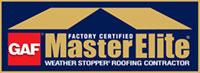 GAF Factory Certified Master Elite